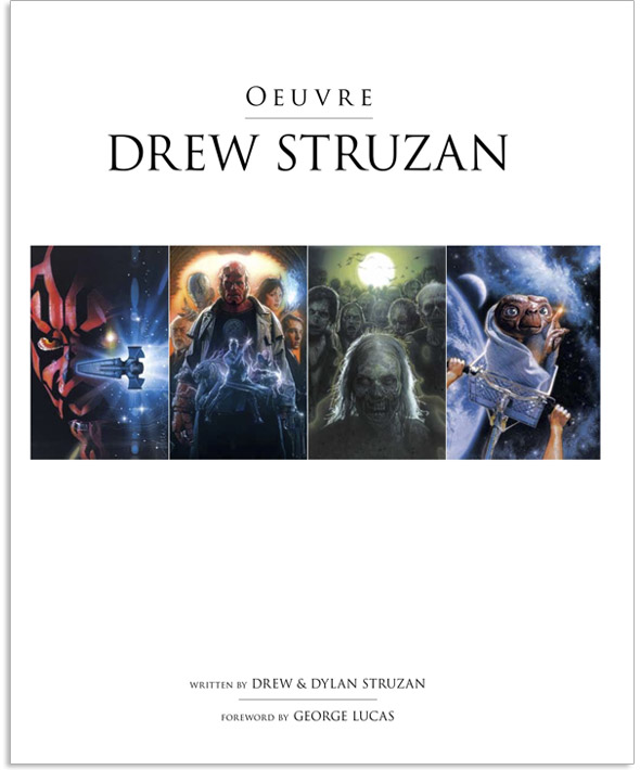 Drew Struzan OEUVRE First Edition 2011 Film Artist Illustrator Music Art A1 Gift