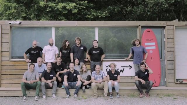 5 - Video proyectado de Wavegarden Making of del premio