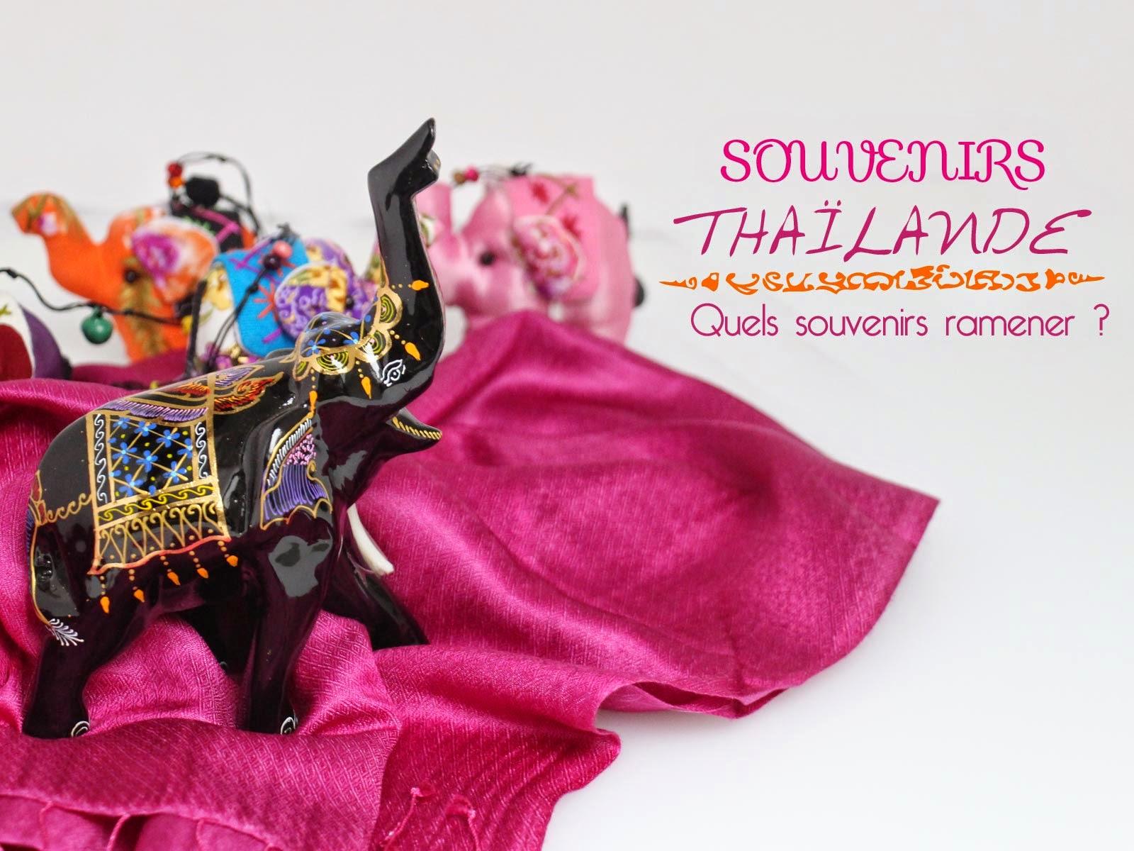 Souvenir de thaïlande - laitfraise creation