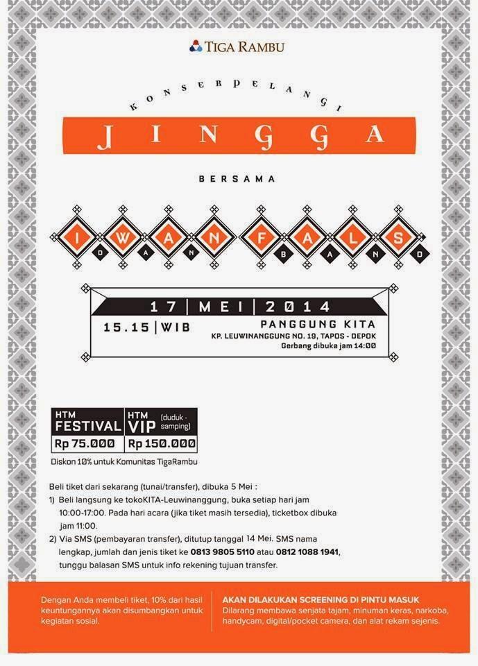 Konser Pelangi INGGA - Iwan Fals dan Band