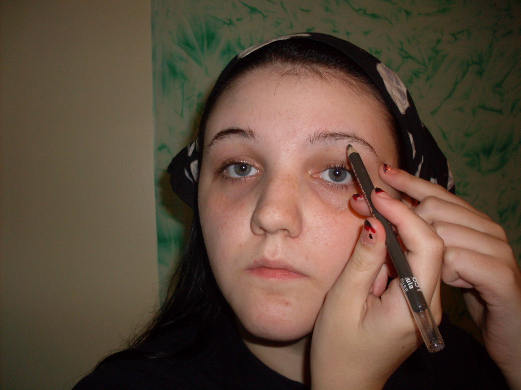 Too Much Eyeliner Goth...