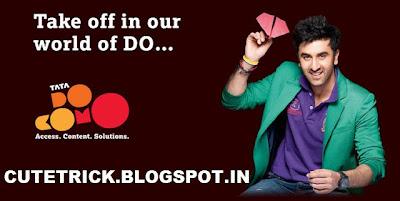 Free GPRS Web Tricks Tata Docomo June and july 2013