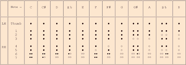 Amazing Recorder Baroque Recorder Fingerings Chart – Recorder Finger Chart