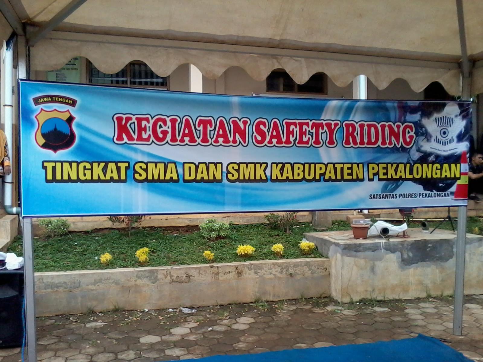 Safety Riding Bersama Satlantas Polres Pekalongan & Yamaha Agung Motor