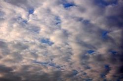 Schäfchenwolken...