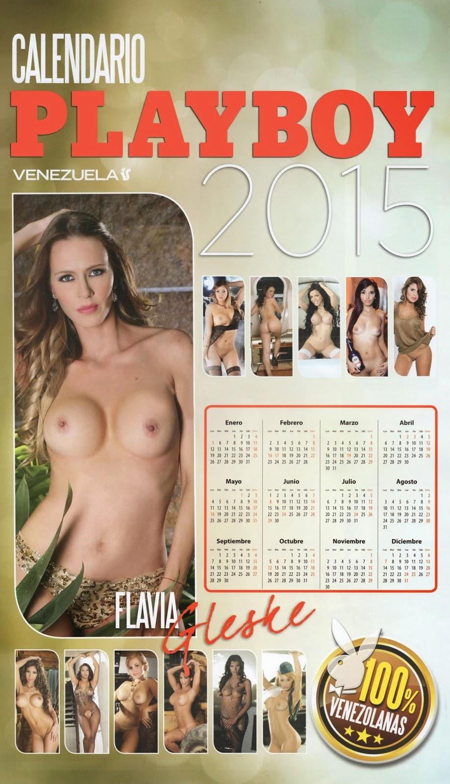 Playboy Official Calendar Venezuela 2015