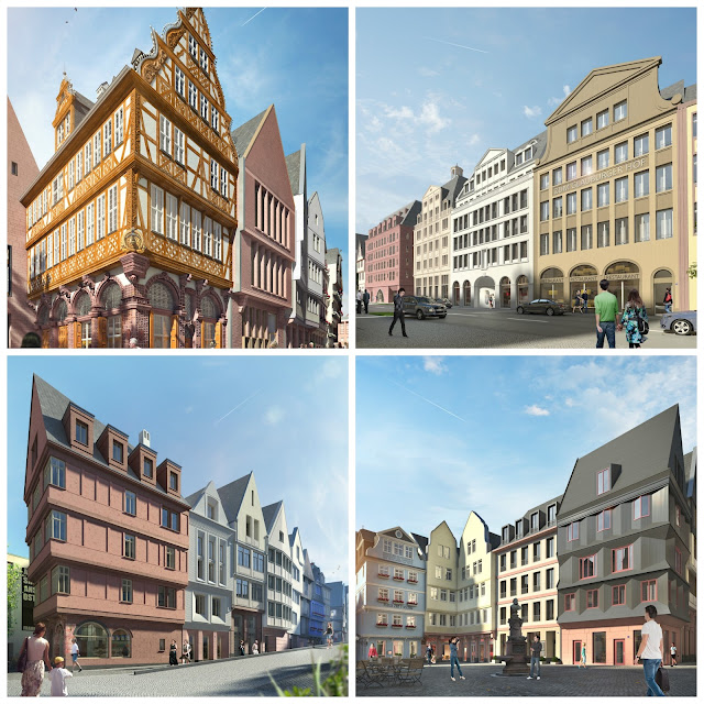 Projeto DomRömer em Frankfurt