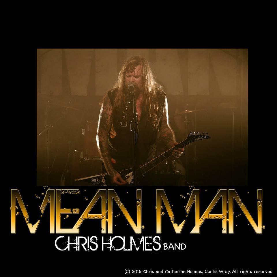 Den melodiösa bloggen: Mean Man feat Chris Holmes (ex W.A ...