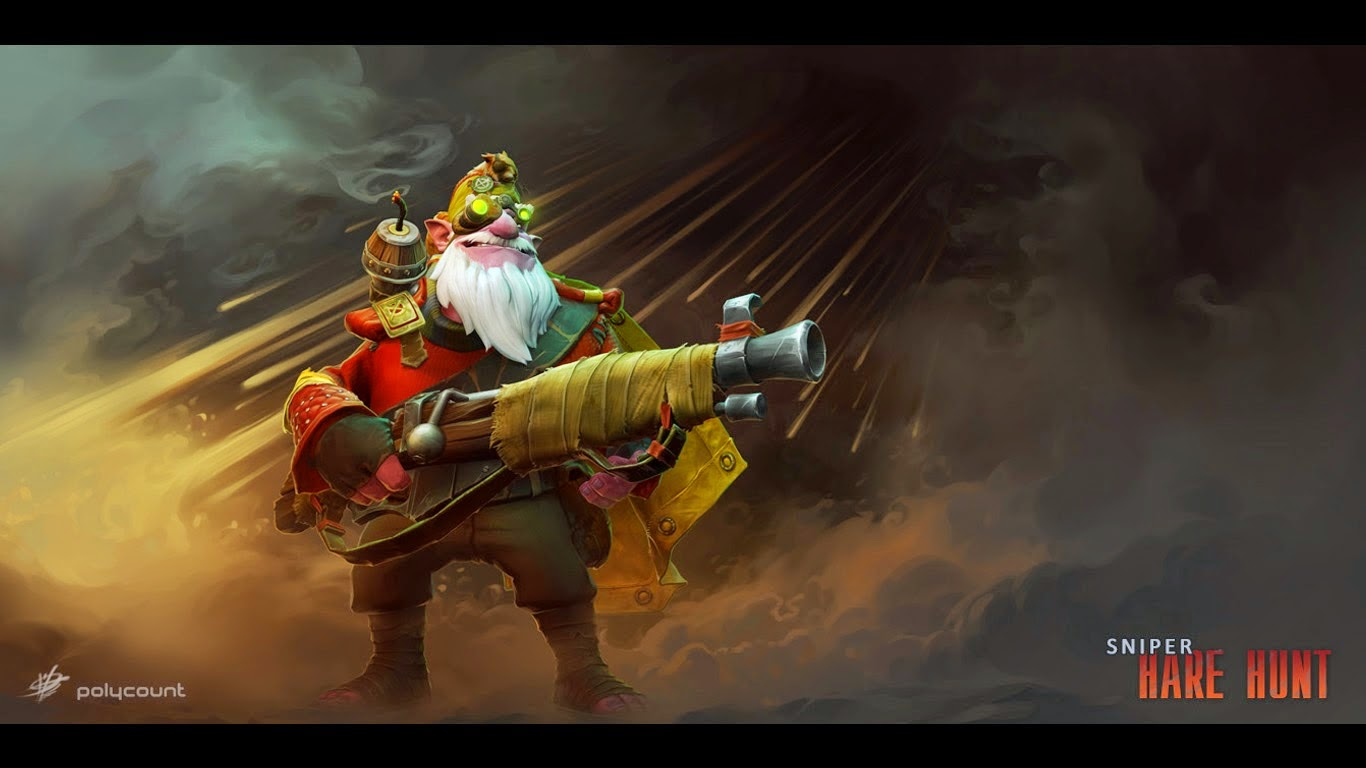 Download Dota 2 Sniper Wallpapers