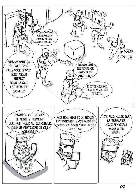 Strip 25 ans MGS Nekofurioso
