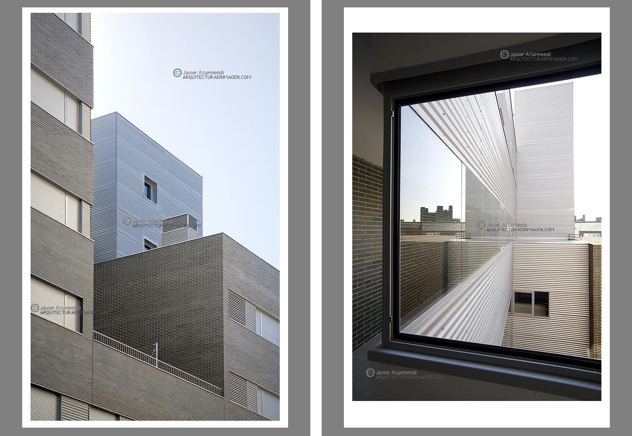 De arquitectura julian franco l pez arquitecto architect edificio de 91 viviendas en madrid - Listado arquitectos madrid ...