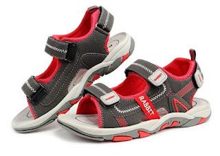 Sepatu Sandal Anak Laki-Laki Kulit Asli