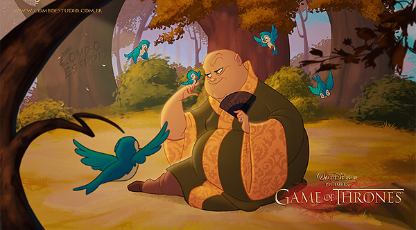 GoT/Disney Mash-Up of Lord Varys