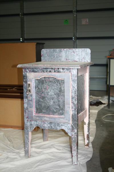 Moving On Up Reloved Furniture Project Vintage Pot Cupboard