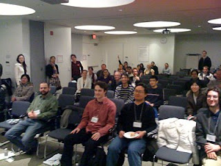 The audience at the UX forum