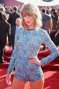 Taylor Swift en los premios MTV Awards 2014.