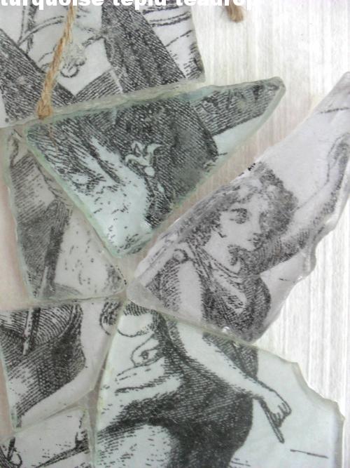 Bilderaufh Ngung turquoise tepid teadrop fotos hinter strandglas photos sea glass