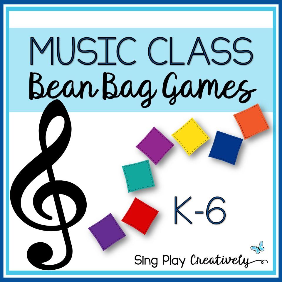 Music Class Bean Bags