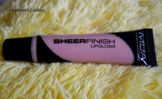 MUA Sheer Finish Lip Gloss Lets Meet
