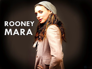 Rooney Mara from Girl with Dragon Tattoo with Hat HD Wallpaper