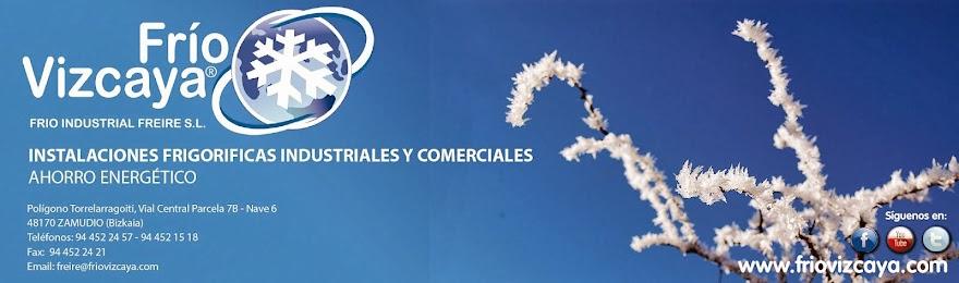 Frio Vizcaya- Instalaciones frigoríficas industriales y comerciales