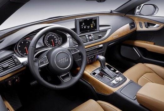 2016 Audi S7 interior