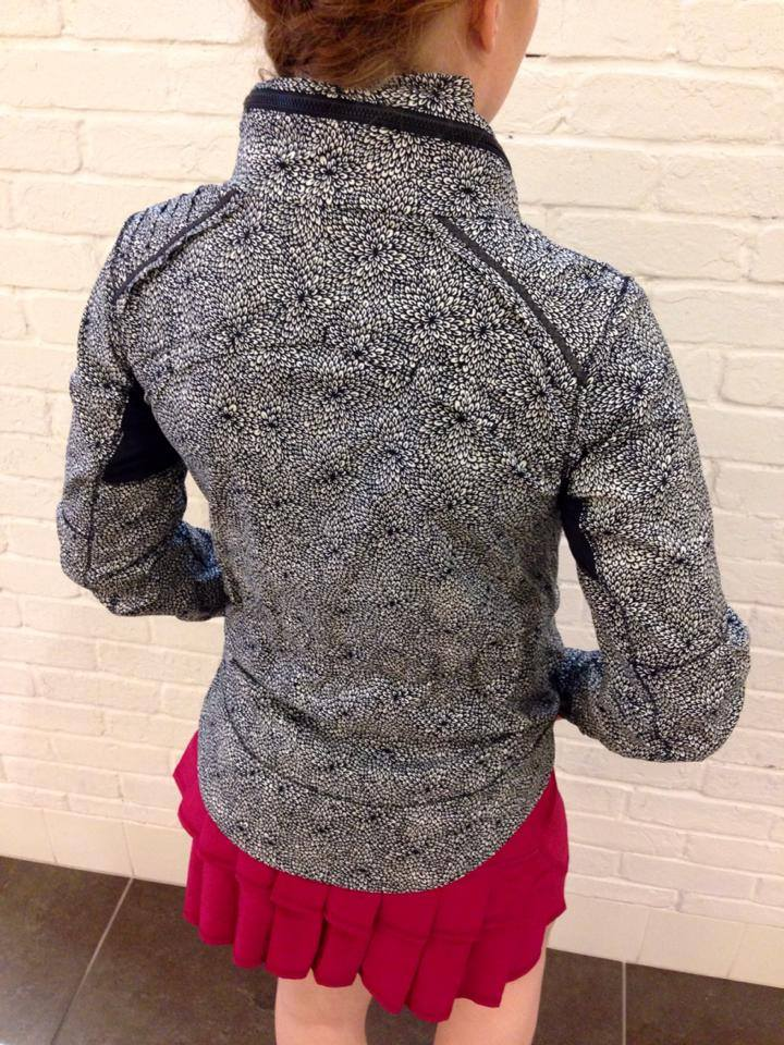 lululemon spring forward jacket plush petal