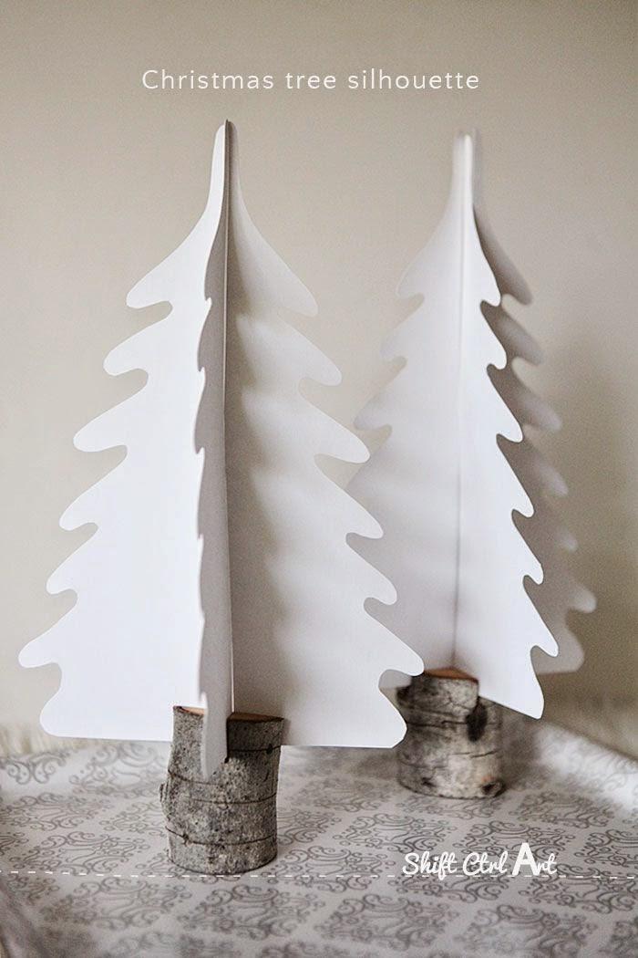 Árbol de Navidad con Tronco Incluido