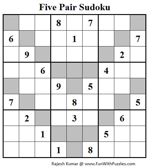 Five Pair Sudoku (Daily Sudoku League #115)
