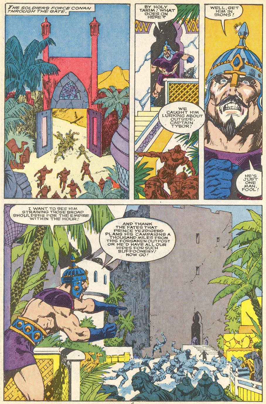 Conan the Barbarian (1970) Issue #215 #227 - English 5