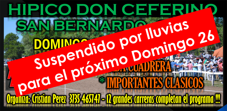 SAN BERNARDO - 19 DE ABRIL