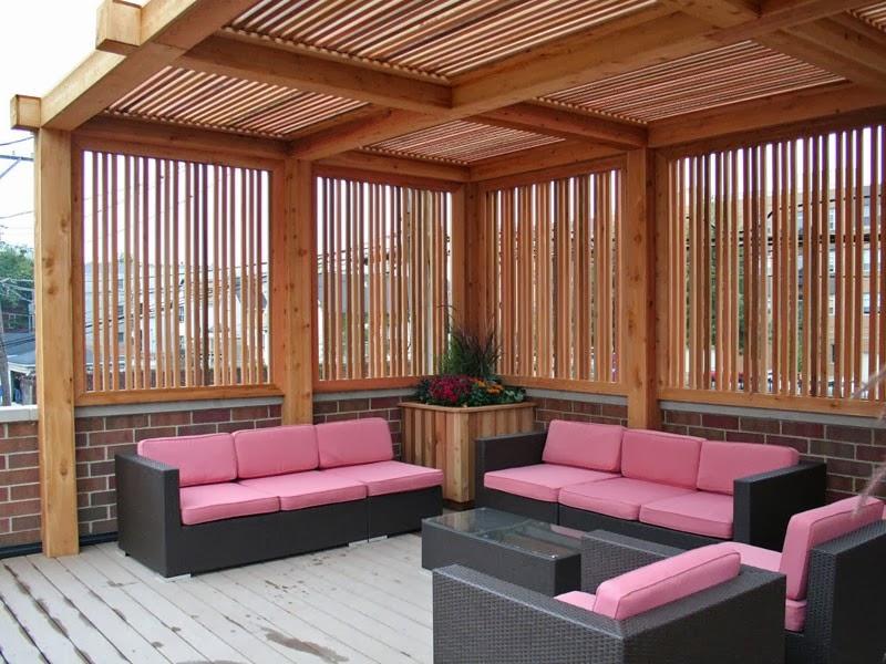 Desain Ruang Tamu Outdoor