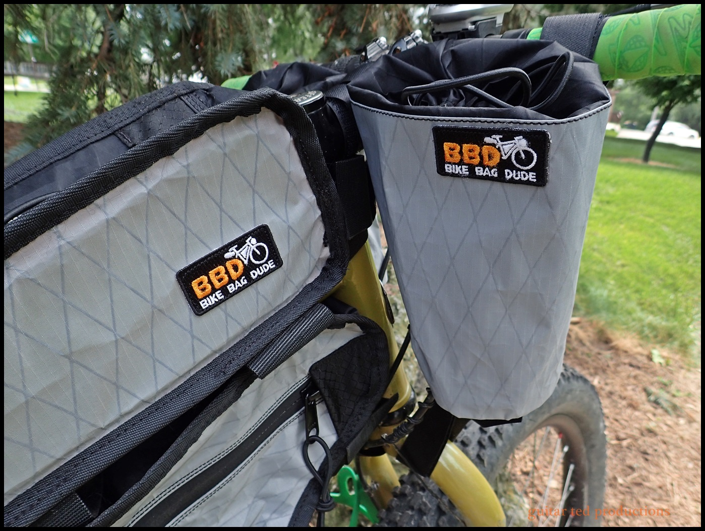 The Top Bag And Chaff All Bbd Bags Come With These Nice Embroidered Patches