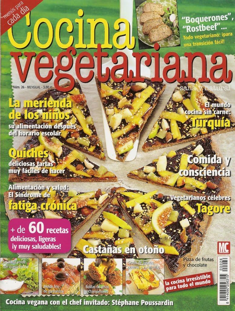 Cocina Vegetariana Revista   Mis Recetas Anticancer Salimos En Cocina Vegetariana