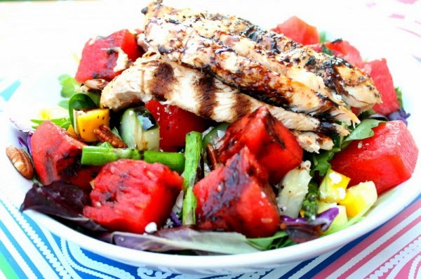 Ever Ready: Balsamic Watermelon Chicken Salad