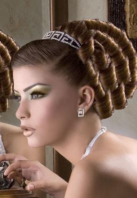 Maquillage libanais professionnel à Paris et Ile de France smoky , Coiffure  Libanaise Mariage