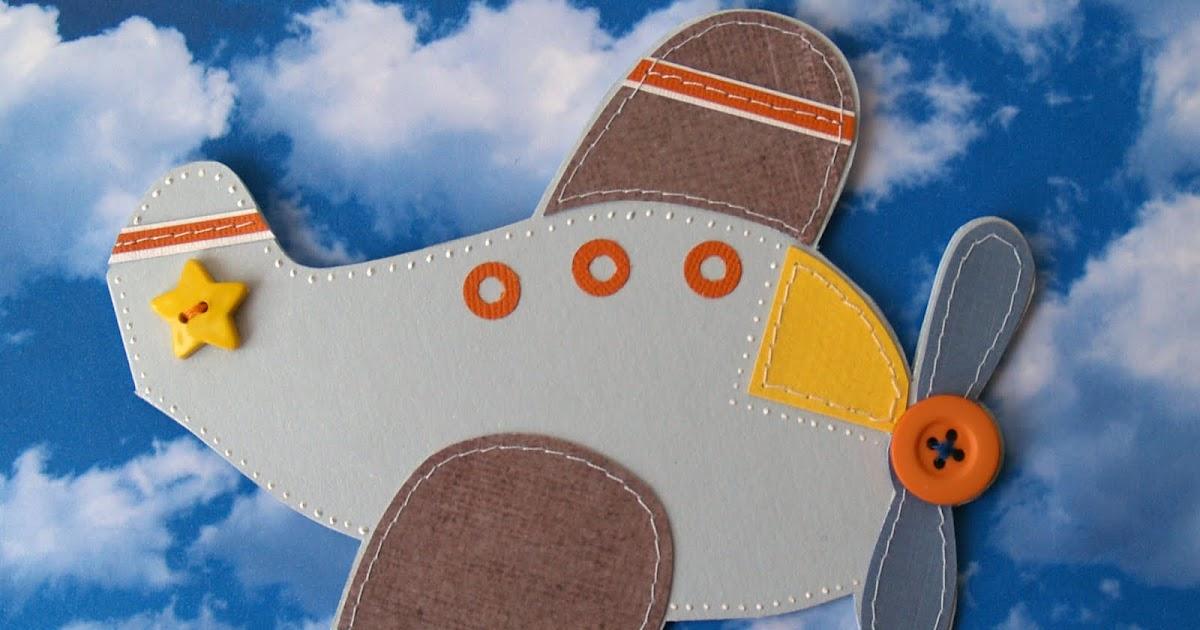 Открытка самолёт своими руками