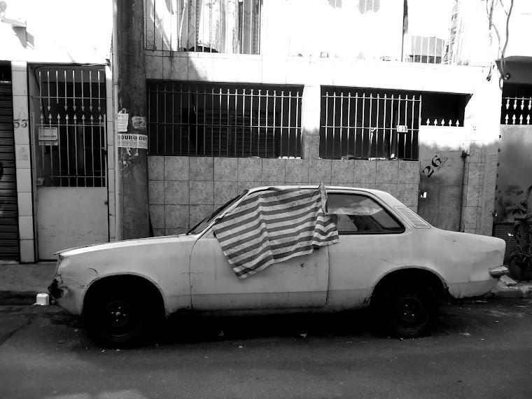 CA -carro branco - sao paulo-SP / BRASIL