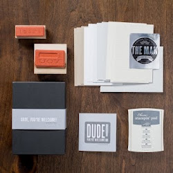 Stamps for Men...Dude, You're Welcome! Kit!