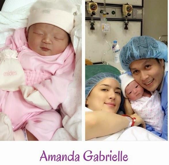 Amanda Gabrielle Ara Mina daughter