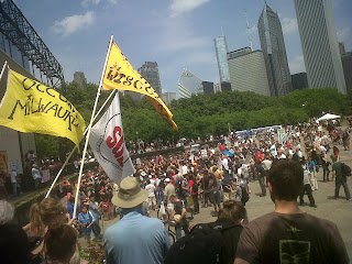 Chicago Police Beat NATO Protesters with Batons, Arrest Other Protesters Who Were in Possession of … Beer Making Equipment IMG 20120520 00026
