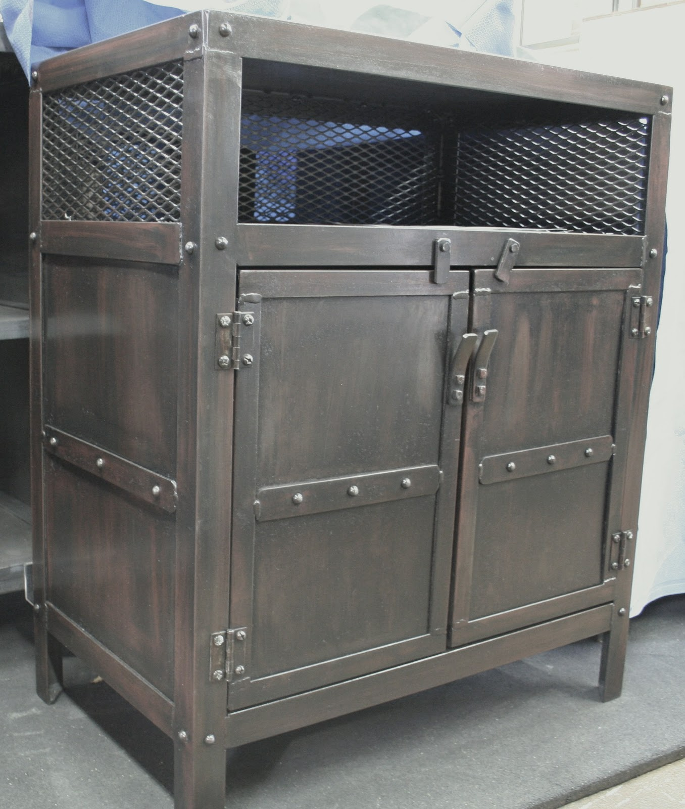 Real Industrial Edge Furniture Llc Industrial Nightstand