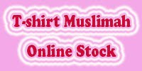 Check the availablity of your favourite T-shirt Muslimah sizes