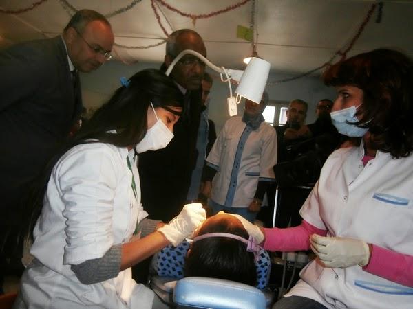 نيابة صفرو : حول القافلة التحسيسية والعلاجية لصحة الفم والأسنان