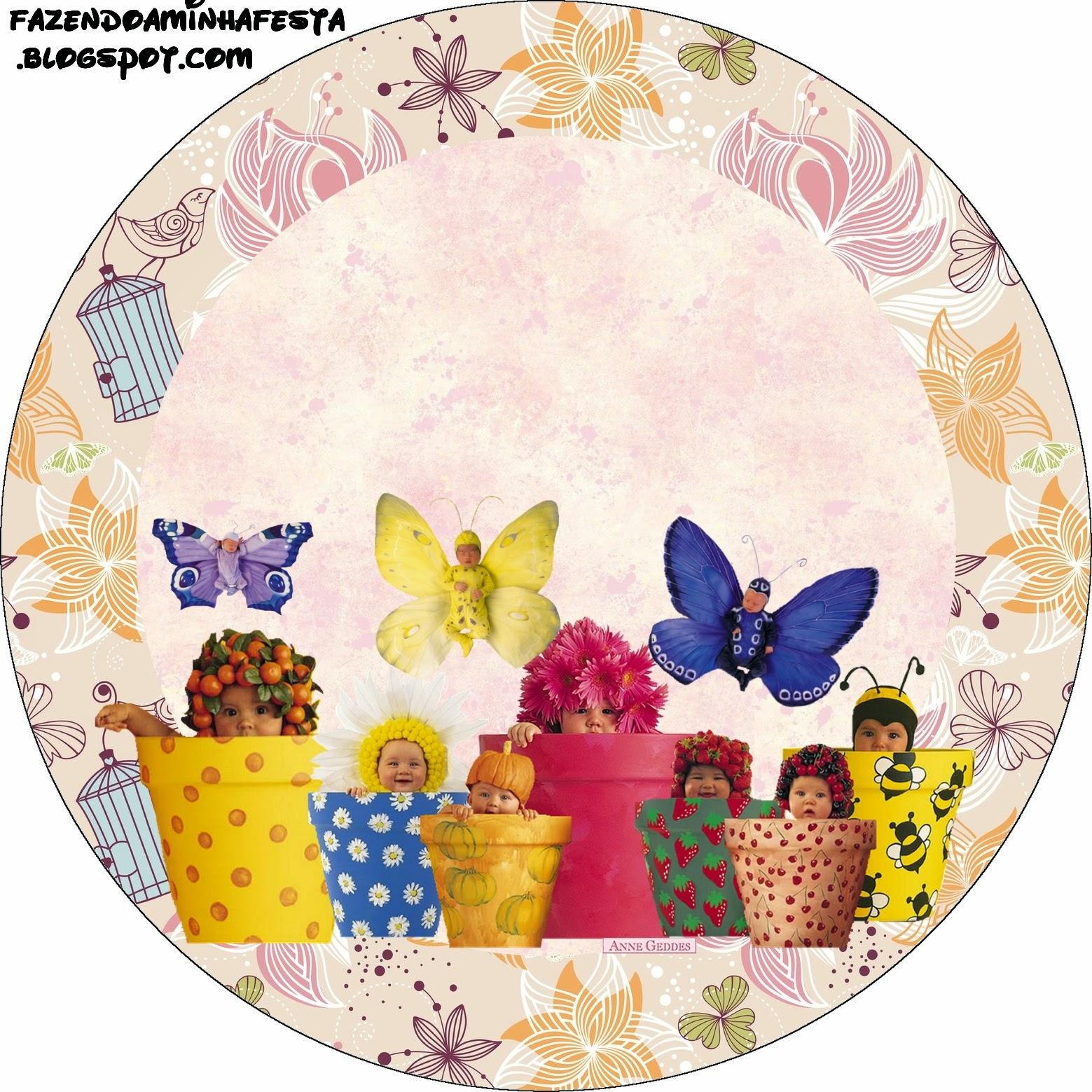 anne geddes babies free printable candy bar labels for springtime