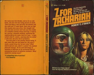 Z is for Zachariah book