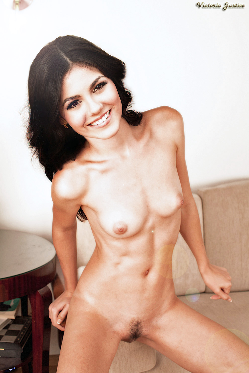 Lo Victoria Justice Nude Possing Her Boobs Tits Pussy Fake