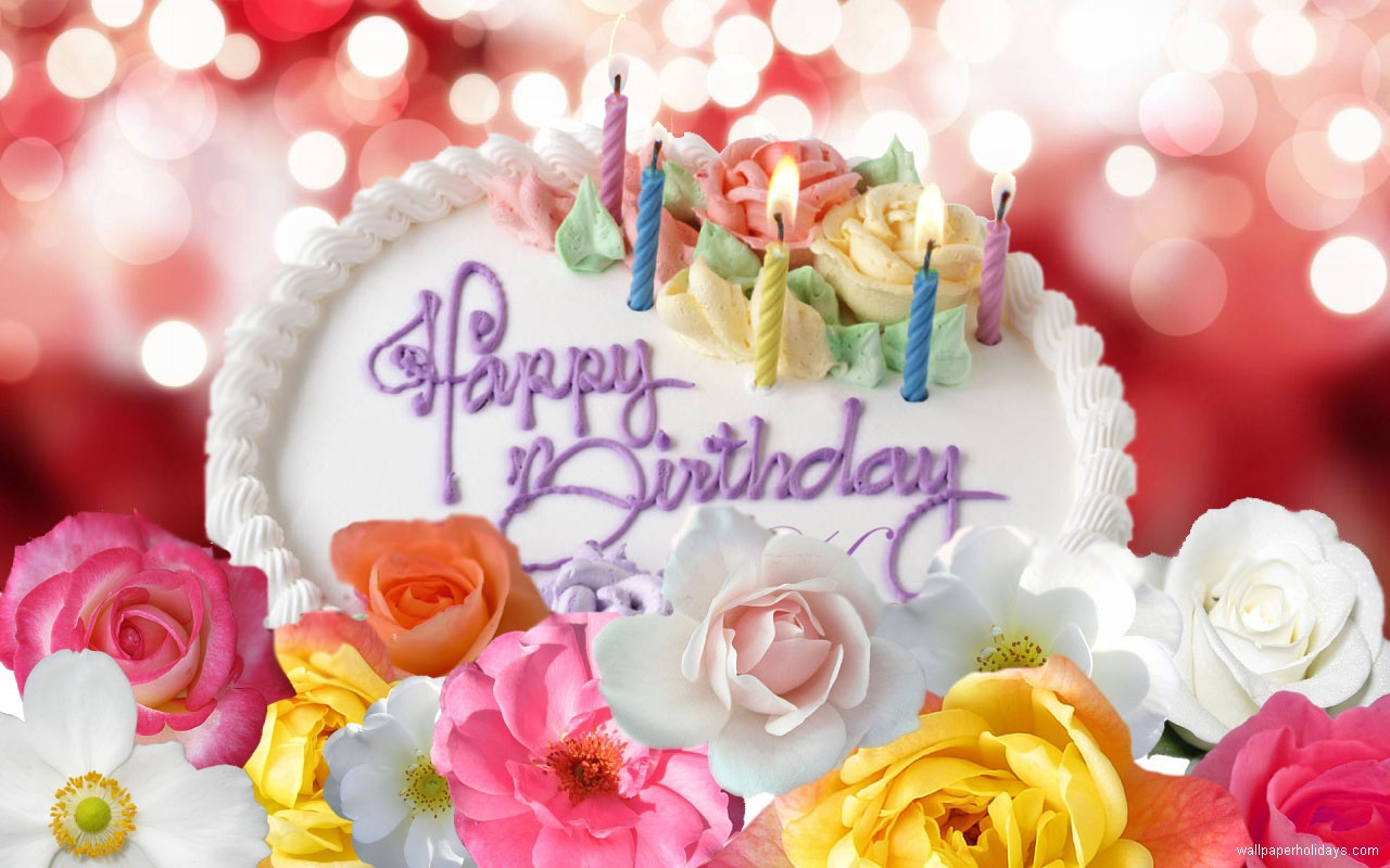 Beautiful Happy Birthday Cake Images
