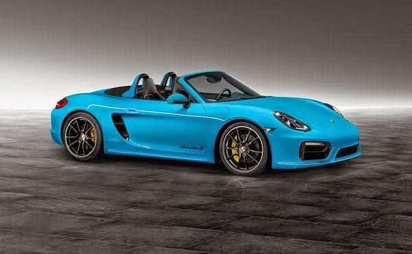 2014 Porsche Boxster S In Riviera Blue By Porsche Exclusive