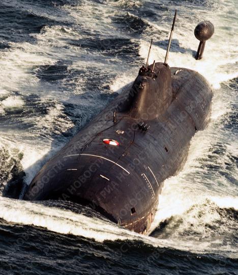 Атомная ракетная подводная лодка